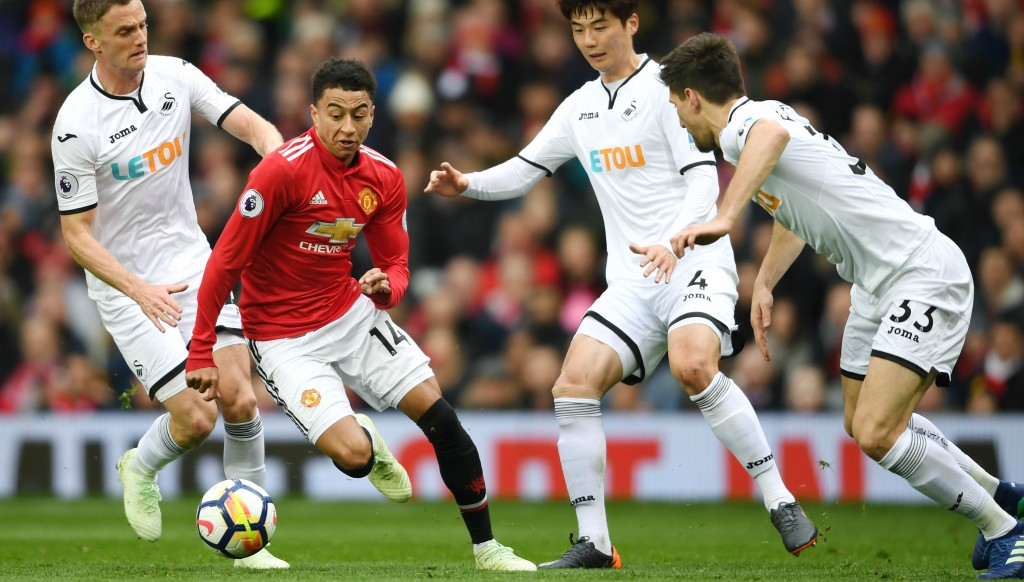 Jesse Lingard added to his growing reputation with a fine performance against Swansea.