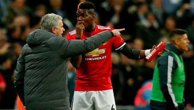Pogba and Mourinho have not always seen eye to eye this season.