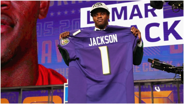 NFL Draft news  Baltimore Ravens are winners with Lamar Jackson ... 3745f31fd