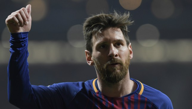 The King: Lionel Messi.