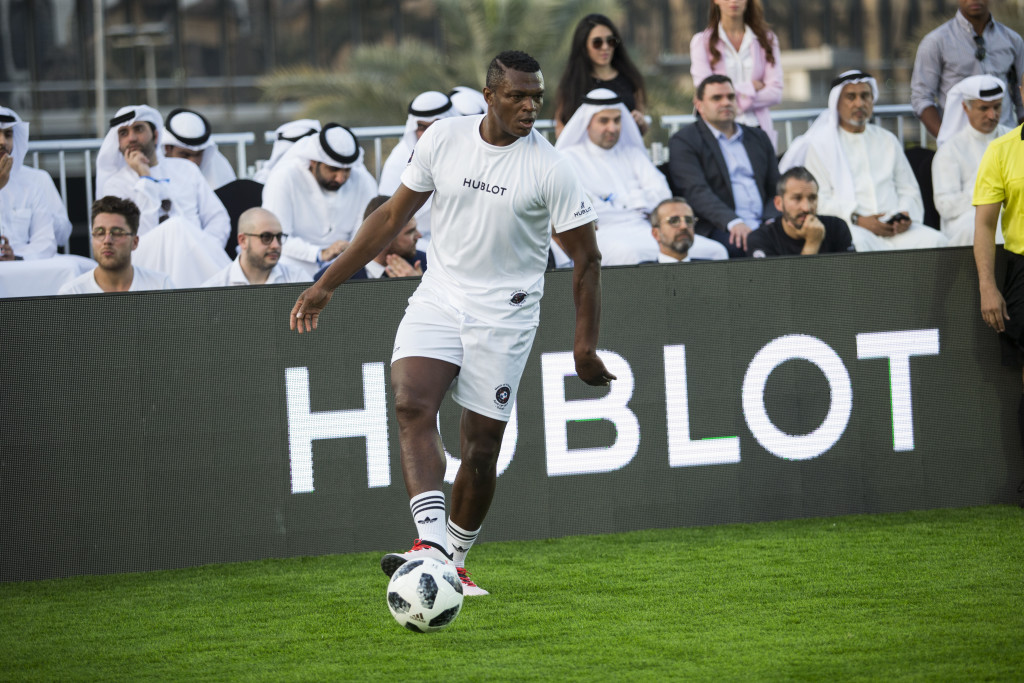 Marcel Desailly featured in Hublot's Match of Friendship at Dubai Opera