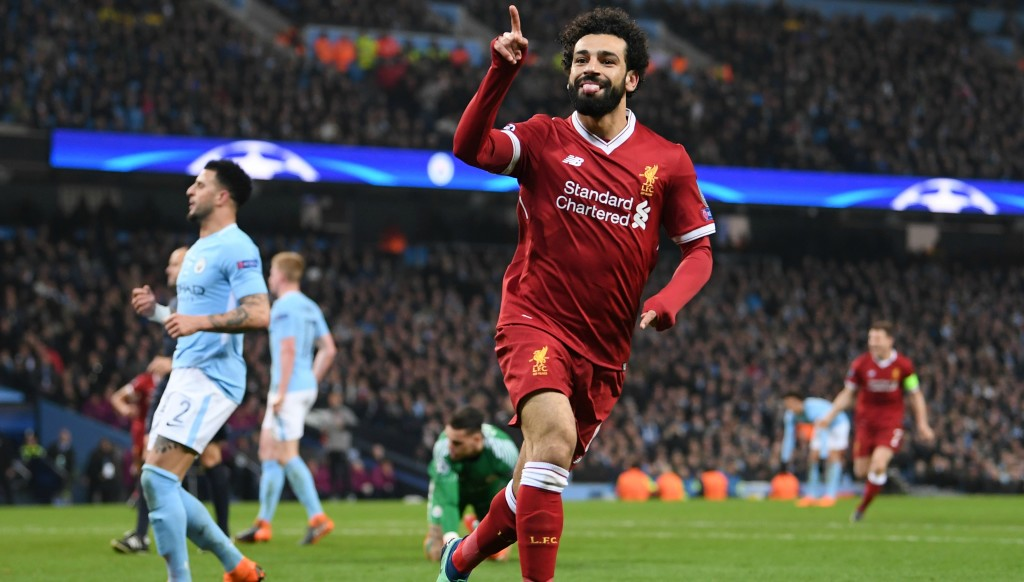 Mohamed Salah's goal calmed Liverpool nerves at the Etihad.