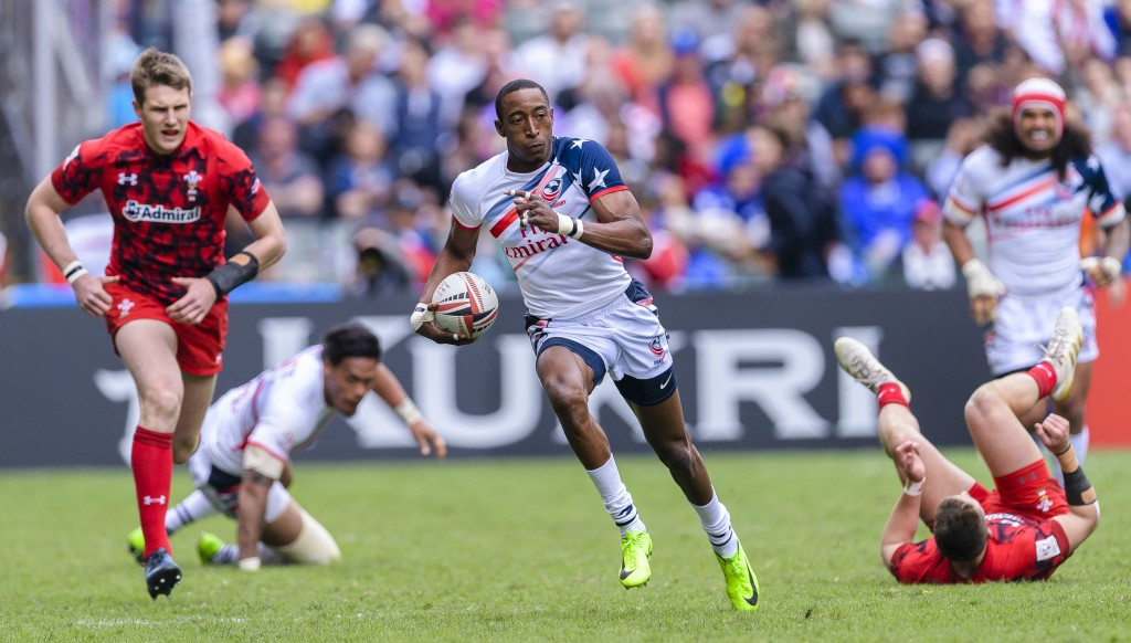The growth of the US Eagles' sevens team and star man Perry Baker has seen rugby's popularity soar Stateside.