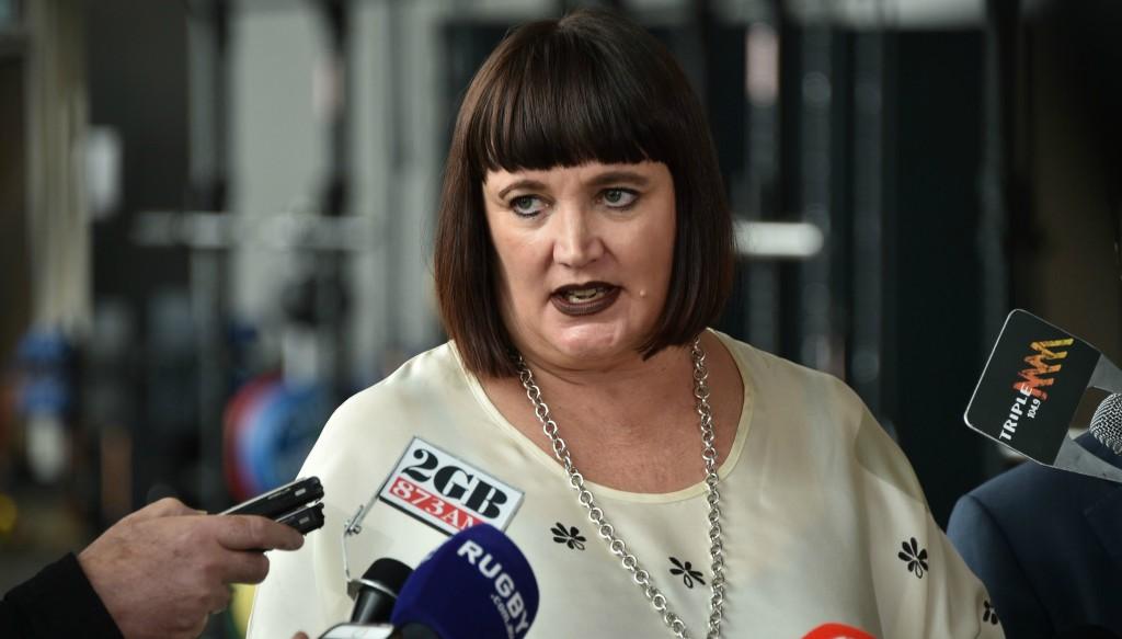 Rugby Australia chief Raelene Castle.
