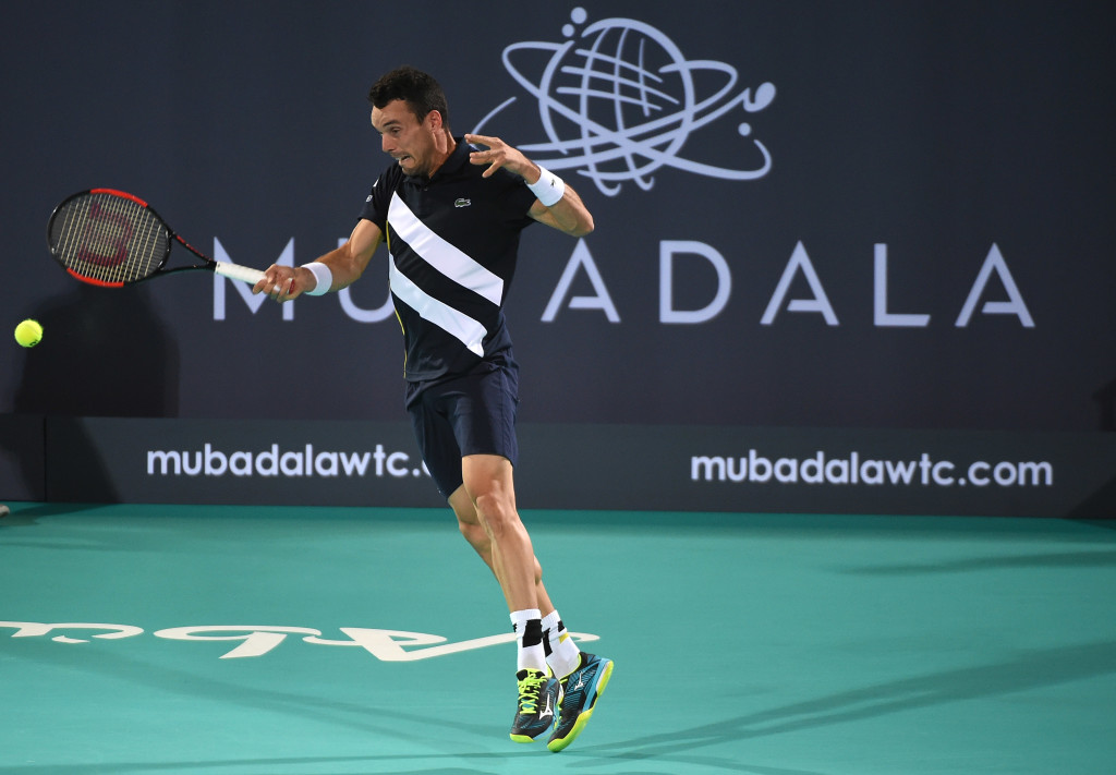 Mubadala is trying to develop players like Roberto Bautista Agut of Spain
