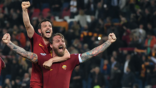 Roma eliminate Barcelona in Champions League