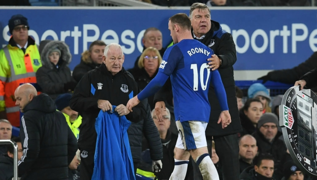 Rooney had made his frustration evident as he walked off the pitch.