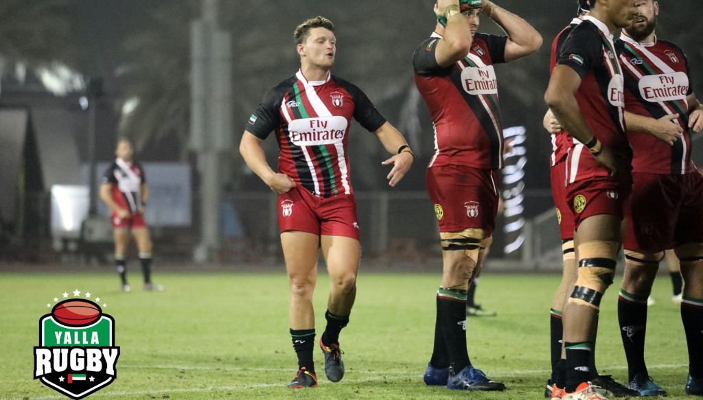 Ross Samson made his UAE debut earlier this year - pic courtesy of Alex Johnson (www.yallarugby.com).