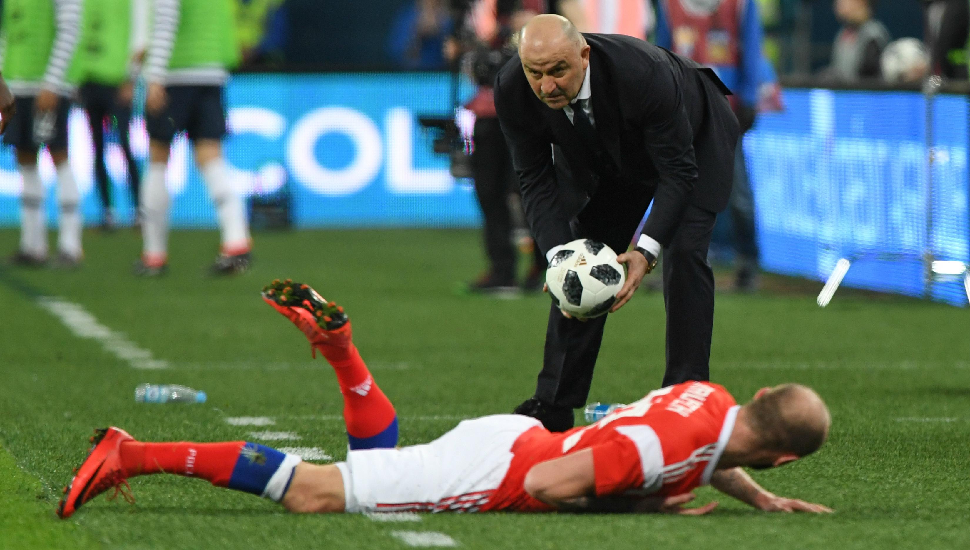 8bb9e355c9e World Cup 2018: Russia coach Stanislav Cherchesov dreams big before home  tournament