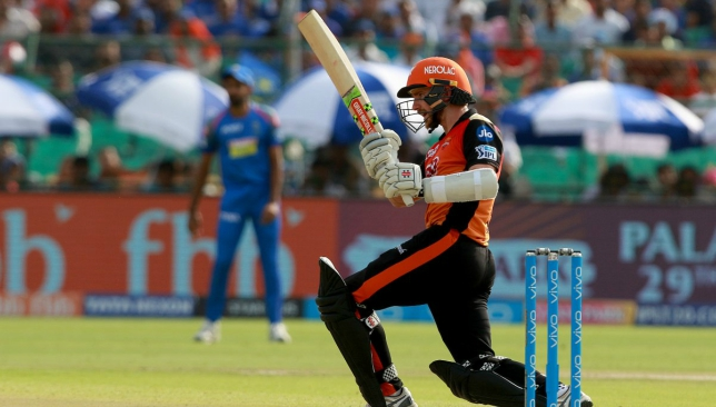 Williamson's fifty proved to be the difference. Image - IPL/Twitter.