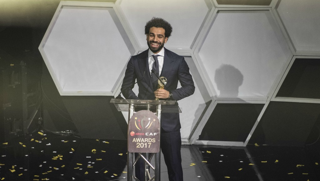 Salah won the African Player of the Year award in January.