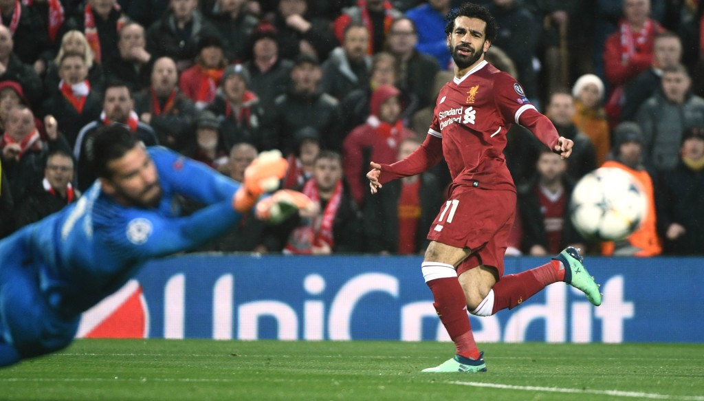 Mohamed Salah gave a perfect performance against Roma
