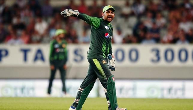 Pakistan skipper Sarfraz Ahmed.