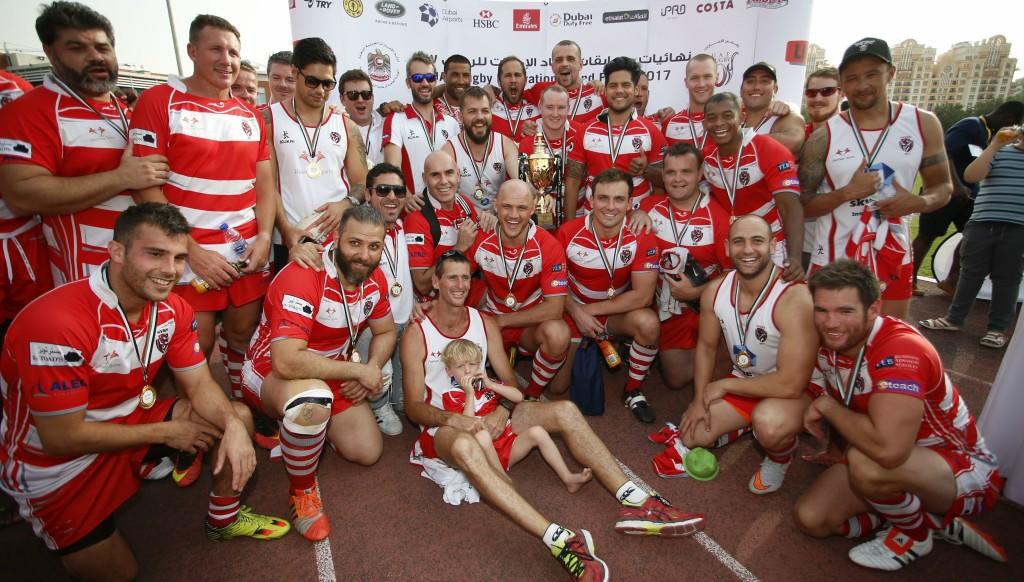 Dubai Tigers won the UAE Conference Bottom 5 final a year ago.