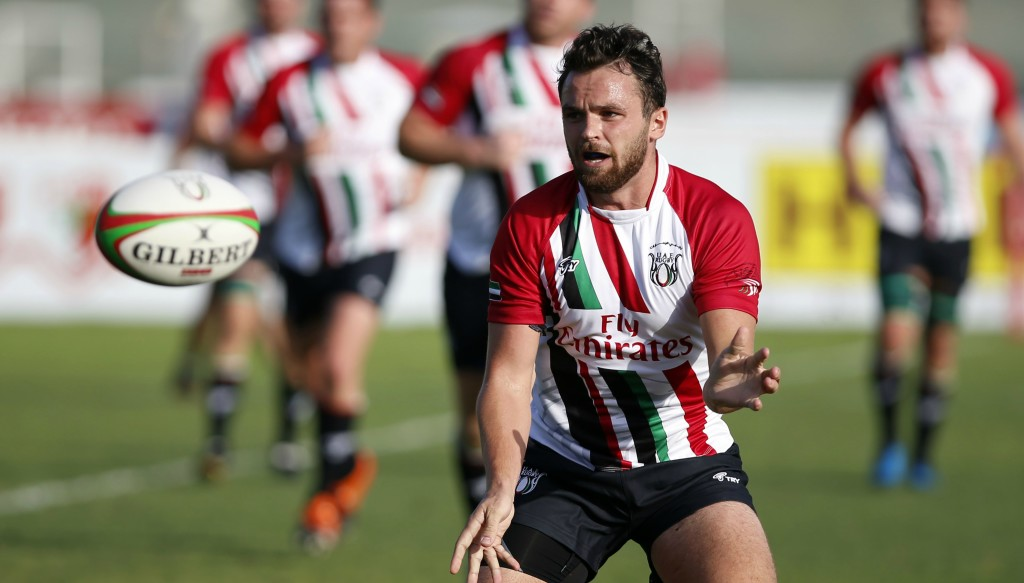 Luke Stevenson will captain the UAE in Singapore.
