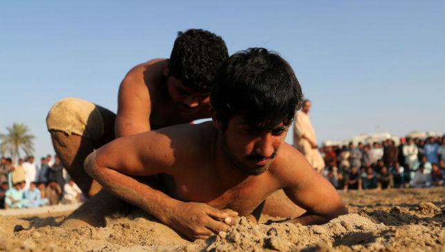 UAE-PAKISTAN-WRESTLING