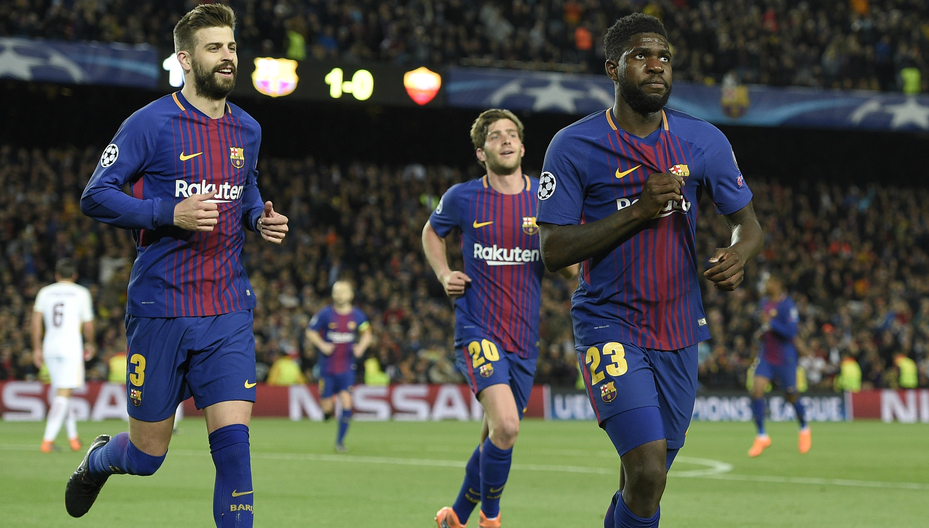 new product 461c0 6b5b7 Barcelona news: Umtiti declares love for Barcelona putting ...