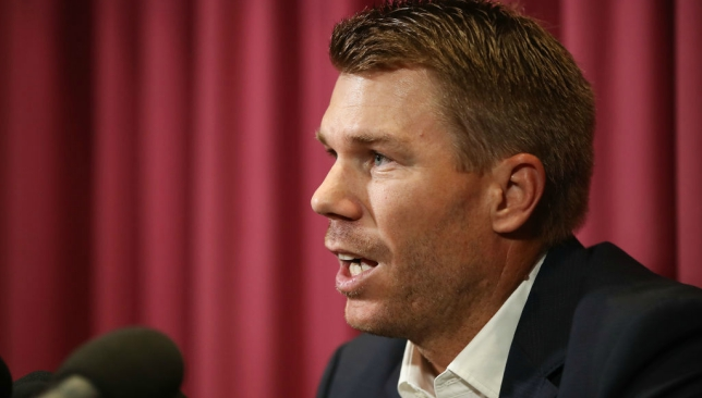 David Warner leaves it late' but accepts fate for ball-tampering