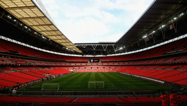 A general view of the Wembley Stadium