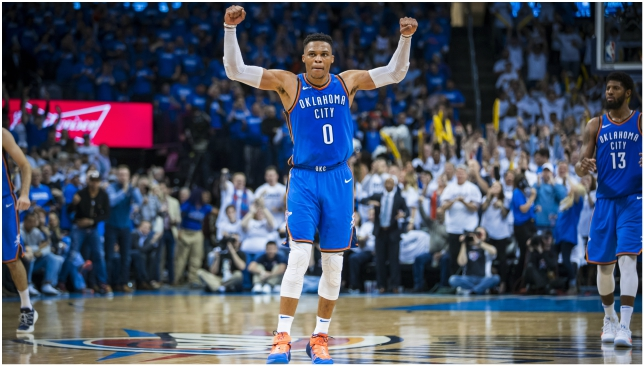 Nba News Russell Westbrook And Paul George Get Hot At Right Time While Lebron James Does Everything Himself Again Sport360 News