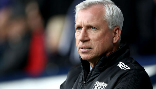 Alan Pardew left West Brom by mutual agreement