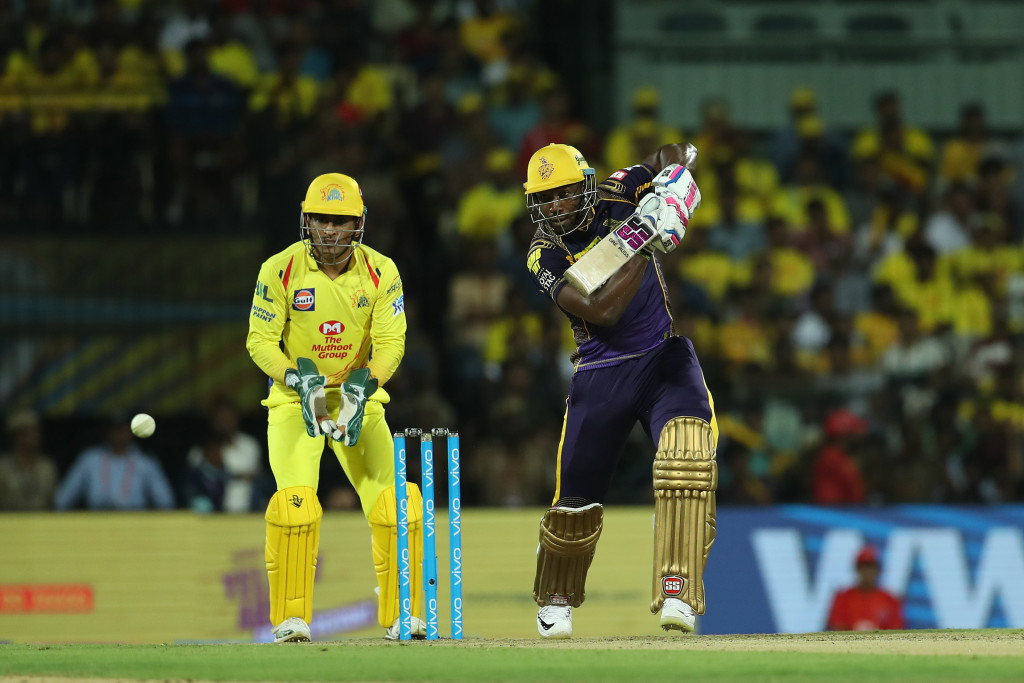 Andre Russell blasted 11 sixes in his 88 no