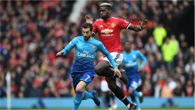 Late Marouane Fellaini's strike earns Manchester United all points against Arsenal