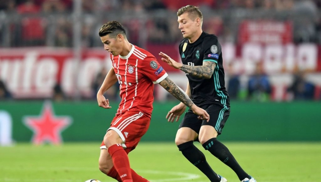 037c39a28c8 Bayern Munich player ratings as James Rodriguez stands tall against Real  Madrid despite defeat