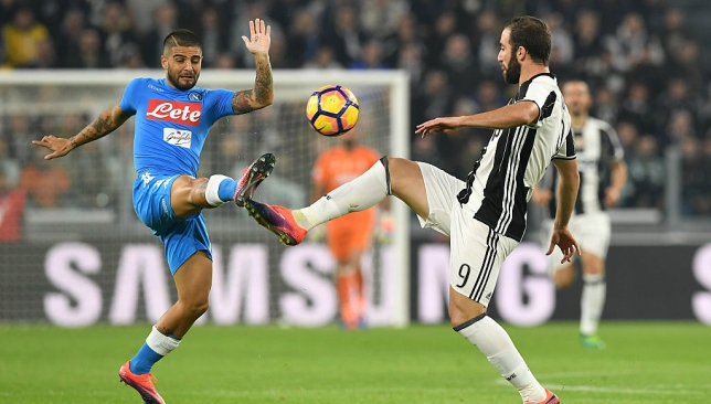 Napoli attacker Lorenzo Insigne taunts Juventus after shock win