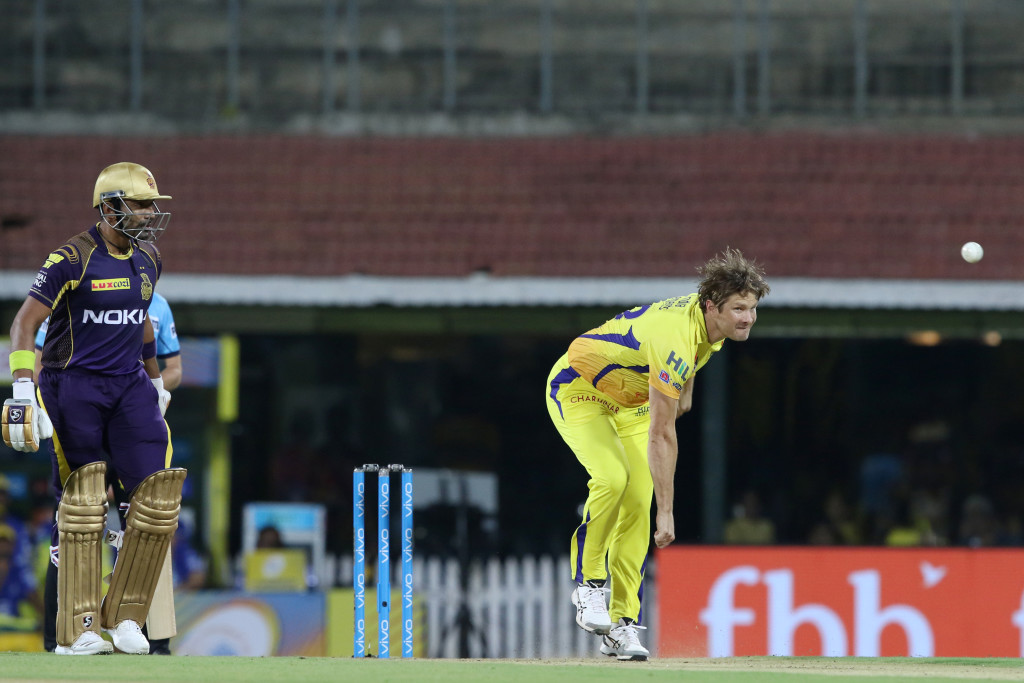 Shane Watson impressed with both the bat and ball