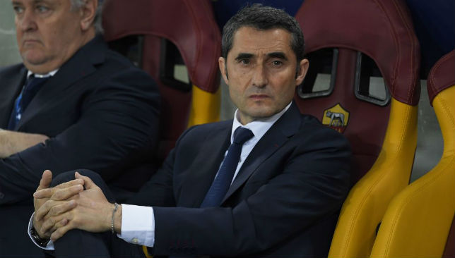 Barcelona will fight on all fronts, says boss Ernesto Valverde ... on quique sanchez flores, kevin mirallas, roy carroll, david fuster, luciano galletti, franco costanzo, francisco javier peral periante, ljubomir fejsa, marcelo bielsa, javier clemente, unai emery,