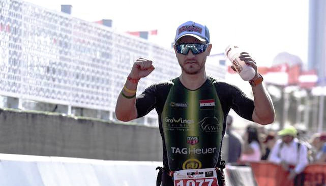 Ironman: Akhras completed events in Bahrain and Dubai
