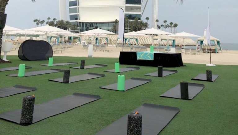 Talise FItness: Morning yoga workouts by the beach