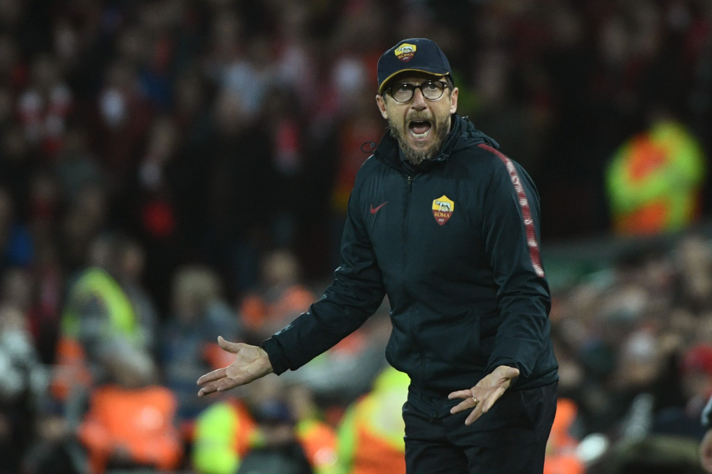 Will Di Francesco go back to his favoured 4-3-3?