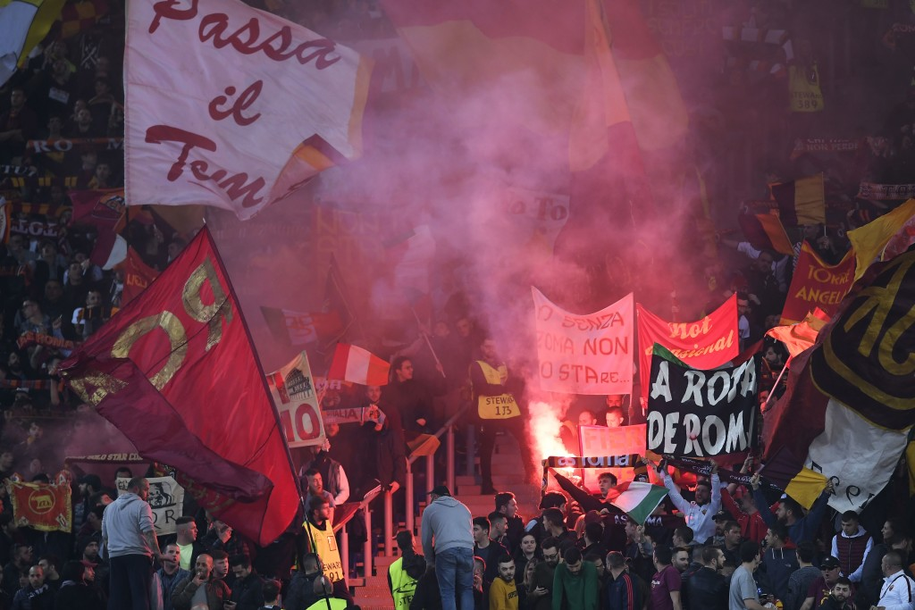 Roma's fans make Stadio Olimpico a daunting place.