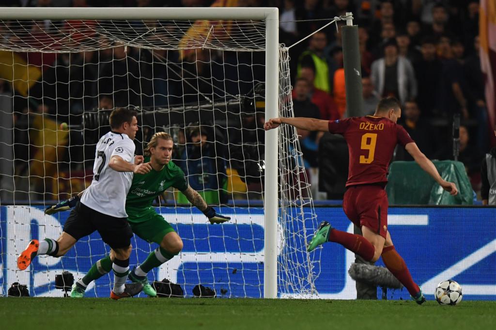 Dzeko scored a goal that gave Roma hope of pulling off their comeback.