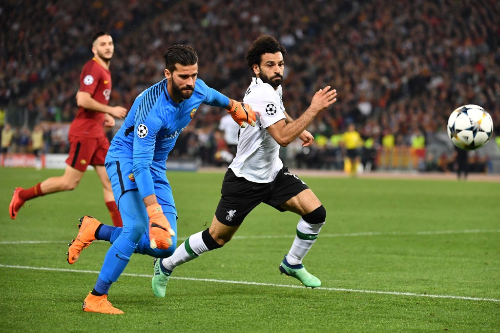 A moment of madness from Roma's keeper was the closest Salah came to scoring.