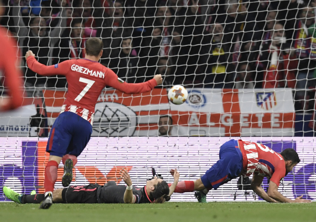 Griezmann set up Costa for Atletico's winner.
