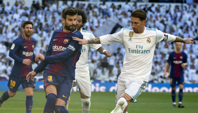Messi put referee under pressure in tunnel, says Ramos after 'Clasico'