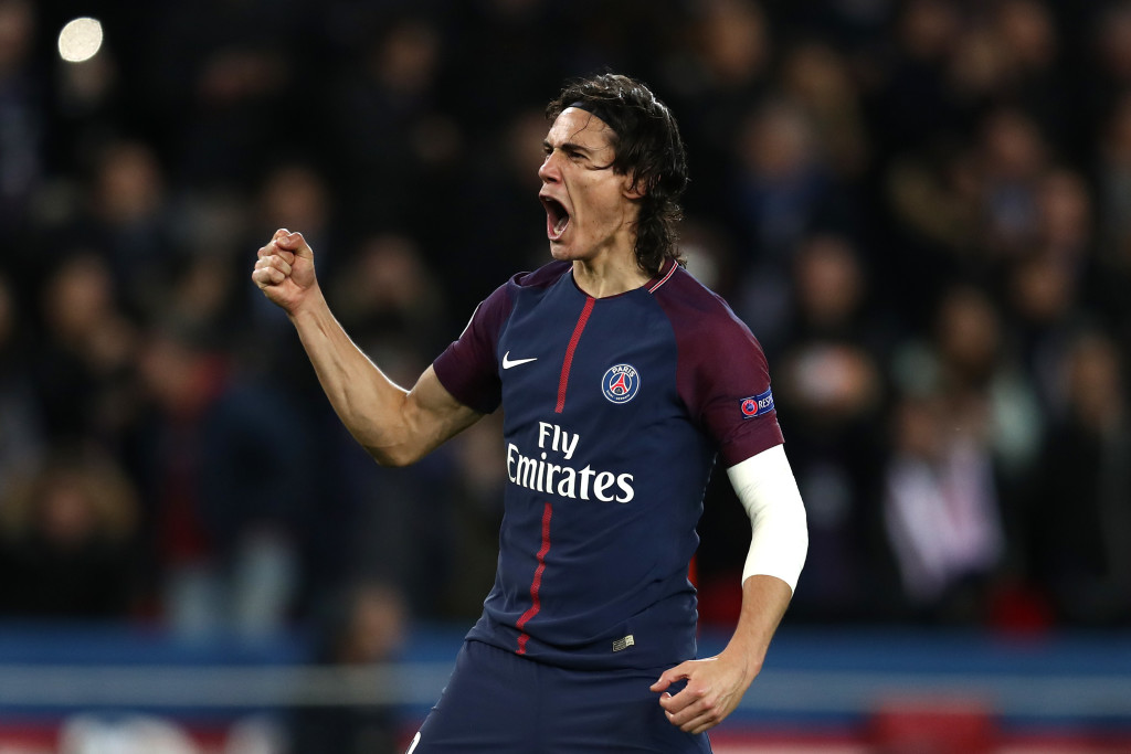 Cavani become PSG's all-time leading scorer this season.