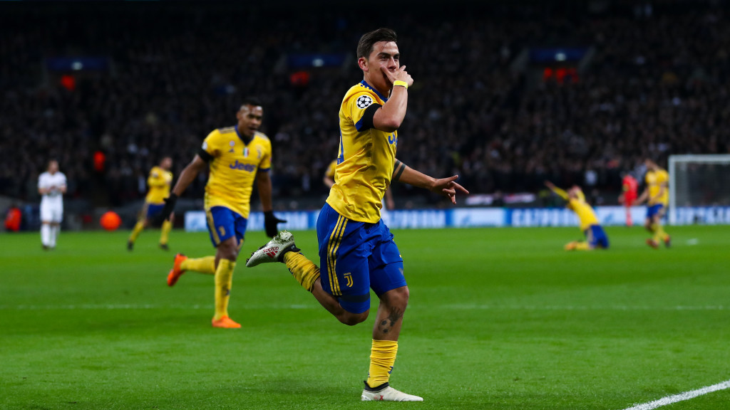 Dybala didn't hit the heights of last season, but he was still superb.