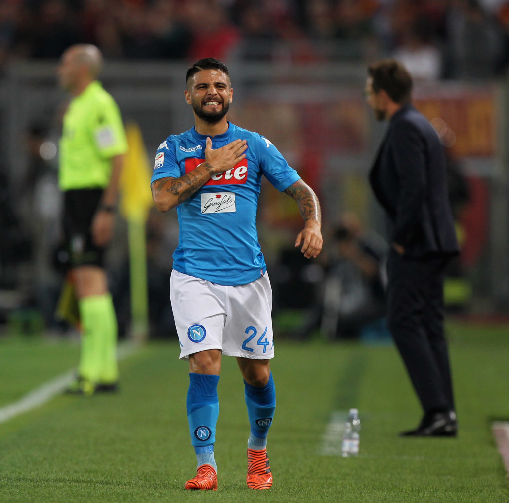 Insigne was the driving force behind Napoli's title bid.