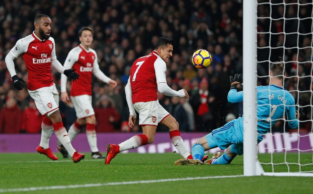 De Gea reached new heights this season - never more so than this 14-save display against Arsenal.