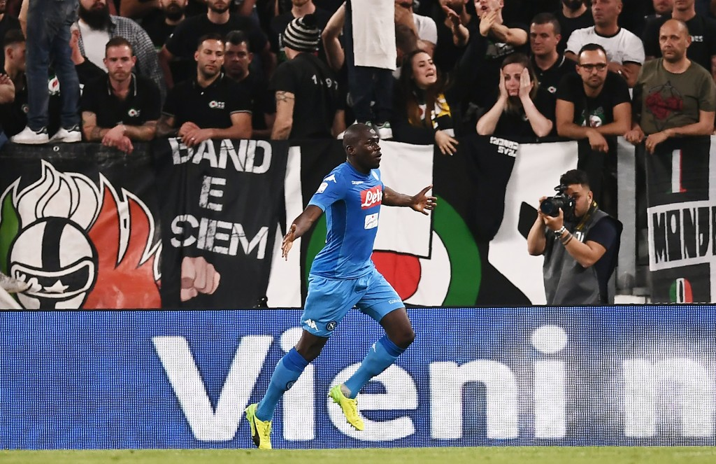 Koulibaly's goal against Juventus nearly proved decisive in the title race.