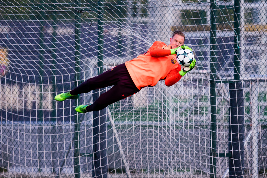 Ter Stegen could be Germany's starter at the World Cup on current form.