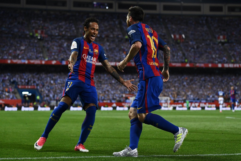 Neymar and Messi forged a successful partnership on and off the pitch.