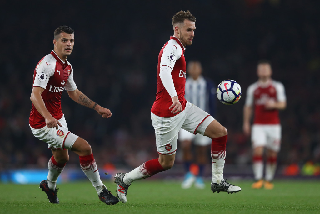 The Xhaka-Ramsey duo has had mixed results as the midfield pivot.