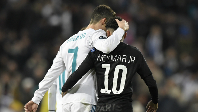 Neymar can replace Cristiano Ronaldo at Real Madrid