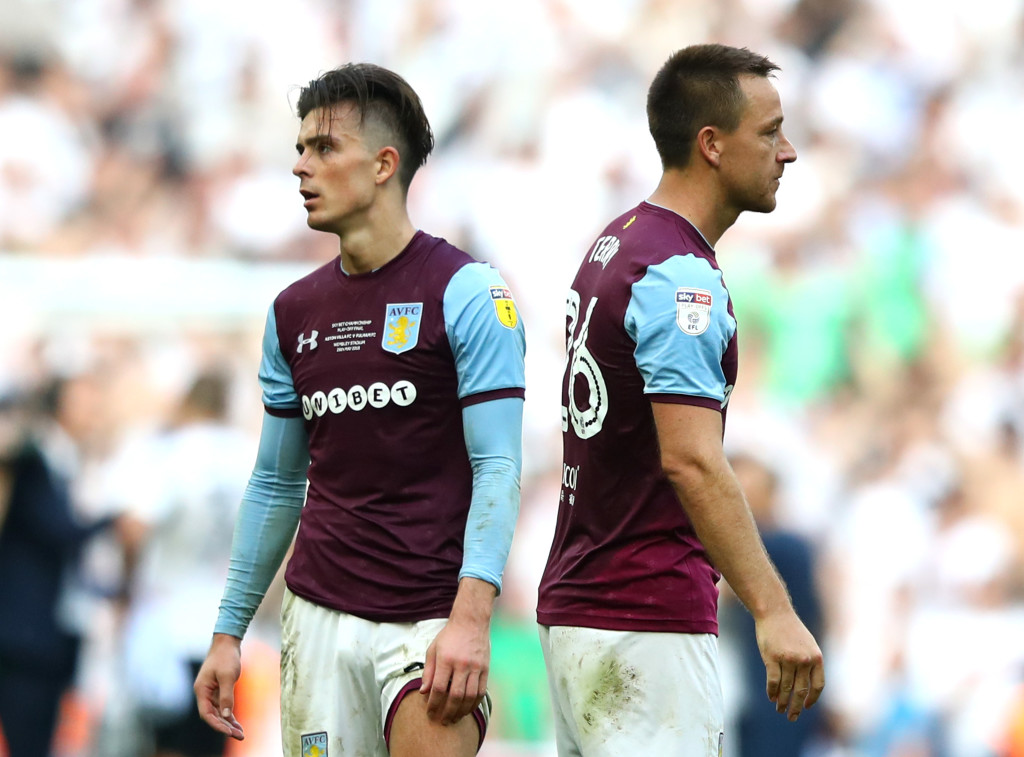 Jack Grealish and John Terry were unable to lead Aston Villa to promotion.