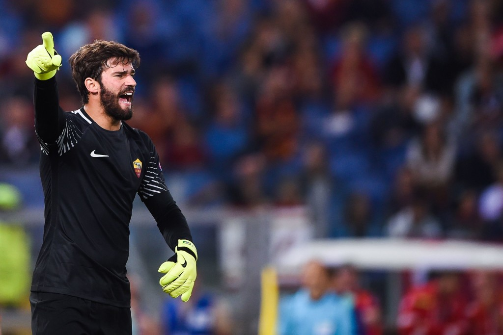 Alisson has been linked with a move to Liverpool all season.